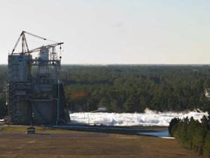 NASA: двигатель J-2x успешно прошёл все испытания