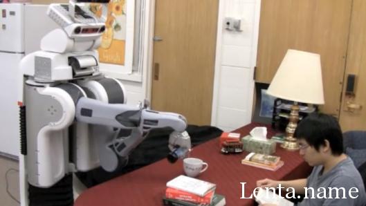 В Корнелльском университете создают робота-официанта