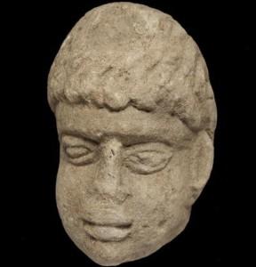 В Англии археологи нашли голову древнеримского божества