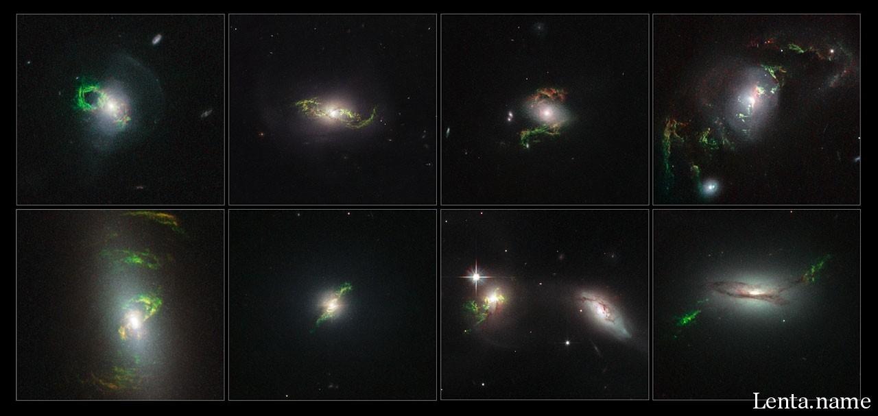 Данные Хаббл подтвердили наличие призраков квазаров