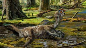 Крылатое существо, жившее 66-72 миллиарда лет назад