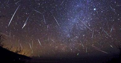 """Лириды, метеоритный дождь. Смотрите """"в прямом эфире"""" Северного полушария"""