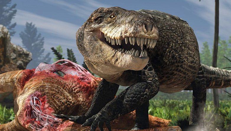 Боитесь динозавров? Этот колоссальный доисторический крокодил был еще более пугающим