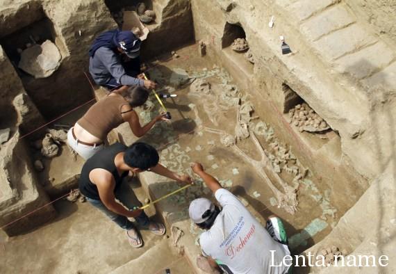 В Перу найдена жрица загадочной цивилизации